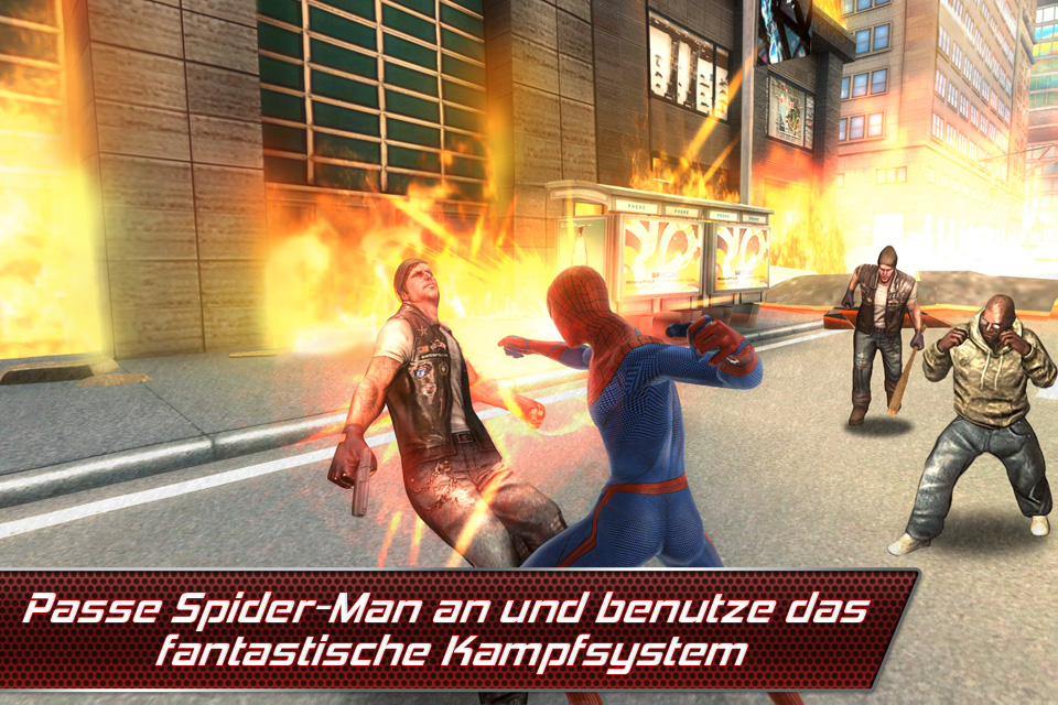 The Amazing Spider-Man iPhone, iPad Screenshot